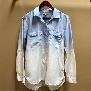 GAP Ombré Shirt light weight Sz M